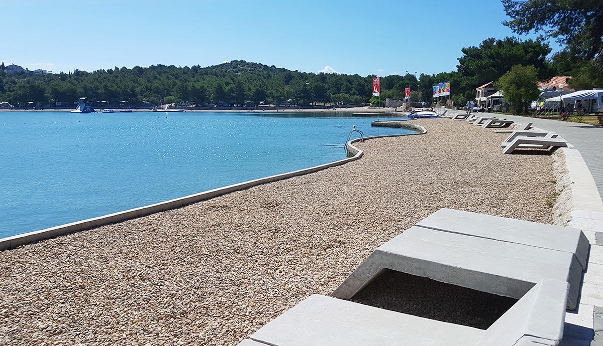 Jezera Village Murter Croatia Plaža