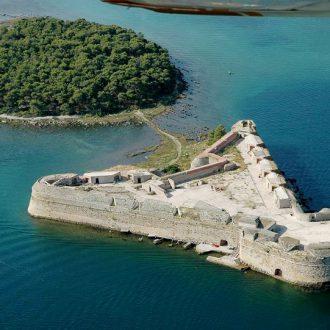 Šibenik fortress Sveti Nikola
