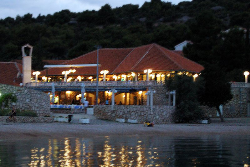 Jezera Village Murter Croatia Restoran